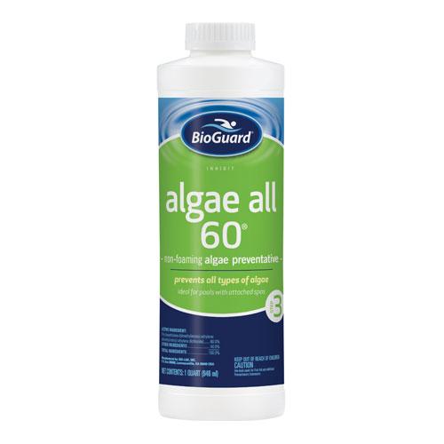 algae all 60 non-foaming algae preventative by bioguard for sale in colorado springs
