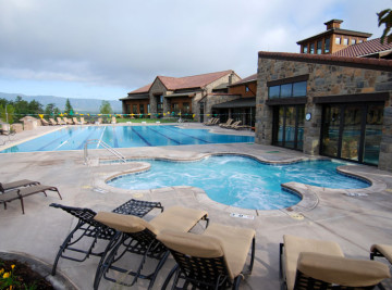 club at flying horse colorado jacuzzi inground pool built in colorado springs