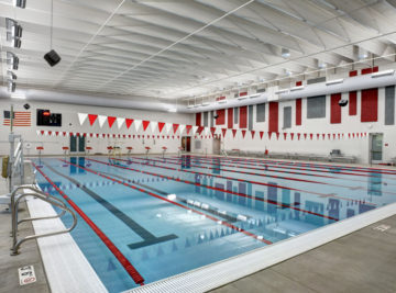 fountain valley school athletic center pool in fountain, colorado