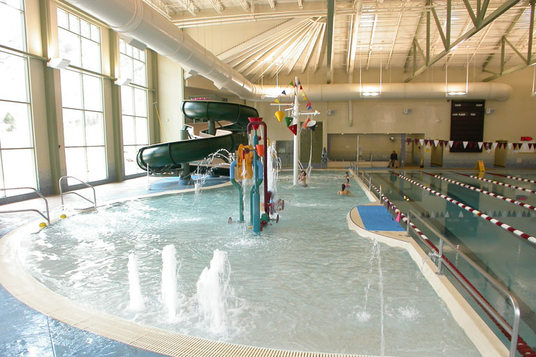 glenwood springs community center pool fountains and slide built in glenwood springs colorado