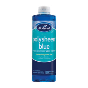 polysheen blue highly concentrated water clarifier by bioguard for sale in colorado springs