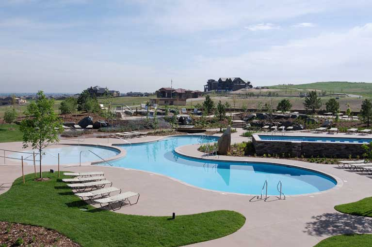 sundial house swimming pool highlands ranch colorado